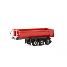 Half pipe tipper trailer 3 axle (04-1155)