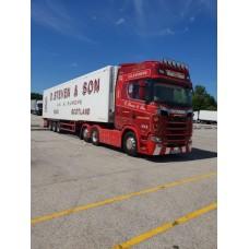 D Steven & Son Scania S650