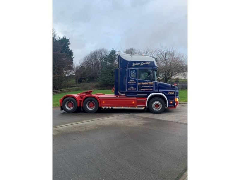 McFadyens Transport T cab Scania