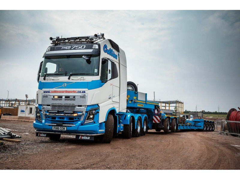 Collins Earthworks Low Loader (WAITING LIST NOW IN OPERATION)