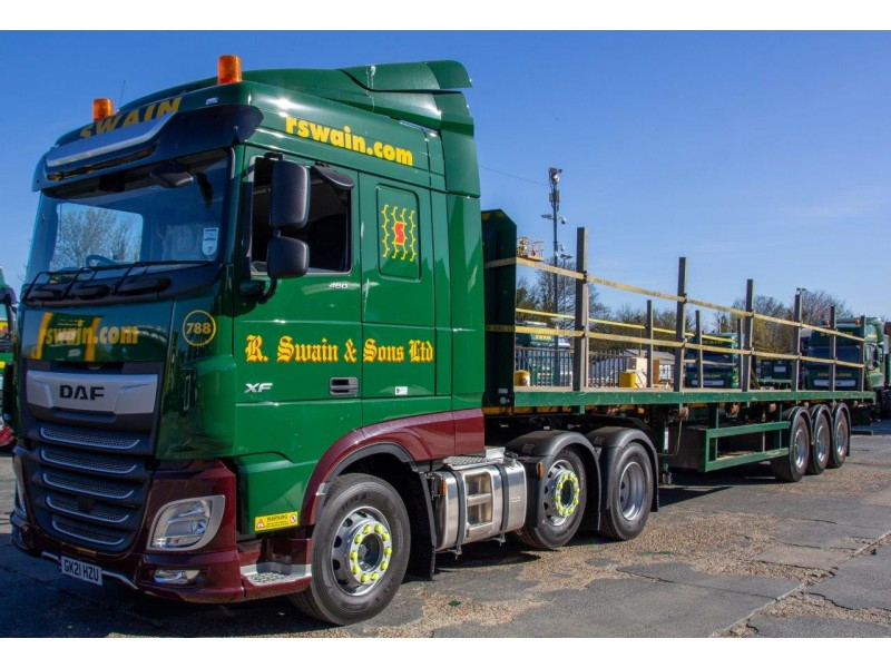 R Swain & Sons (flatbed trailer) WAITING LIST NOW IN OPERATION