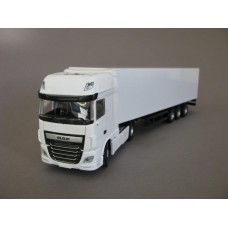 PYO range - plain white DAF XF Euro 6 Super Space (4x2) & box van trailer