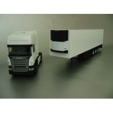 PYO range - plain white Scania R5 Topline (4x2) & box van trailer