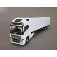PYO Range - plain white Volvo FH4 Globetrotter XL (4x2) & box van trailer